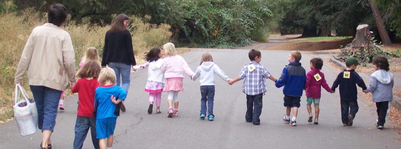 Holding Hands Walk